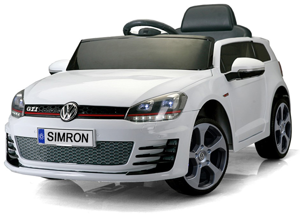 vw golf gti v hicule auto enfants voiture lectrique 2x. Black Bedroom Furniture Sets. Home Design Ideas