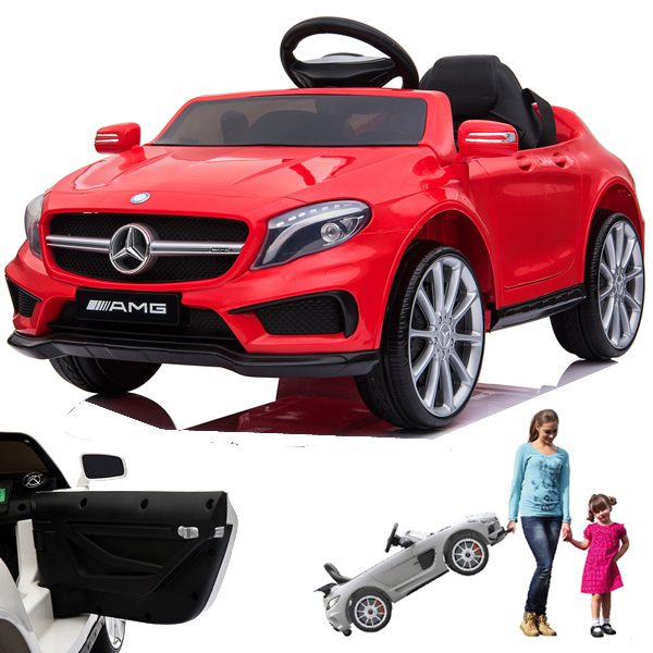 Batteriebetriebene Fahrzeuge 12V Kinder Auto Elektroauto Kinderauto Kinderfahrzeug Elektrofahrzeug Rose rot
