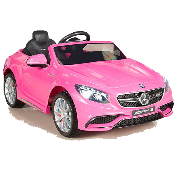 mercedes a45 amg kinderauto kinderfahrzeug kinder elektroauto gefedert 2xmt pink ebay. Black Bedroom Furniture Sets. Home Design Ideas