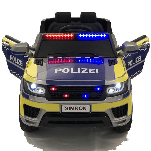 👮🏻 polizei kinderauto funkgerät kinderfahrzeug kinder